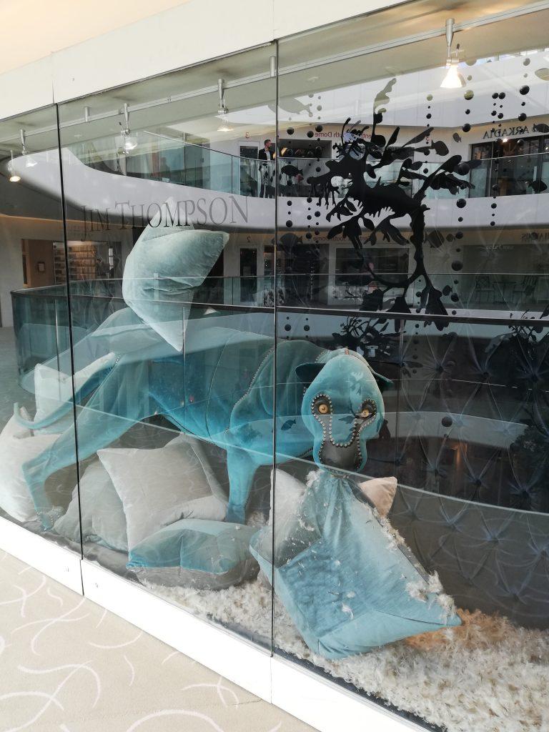 Jim Thompson Window Display