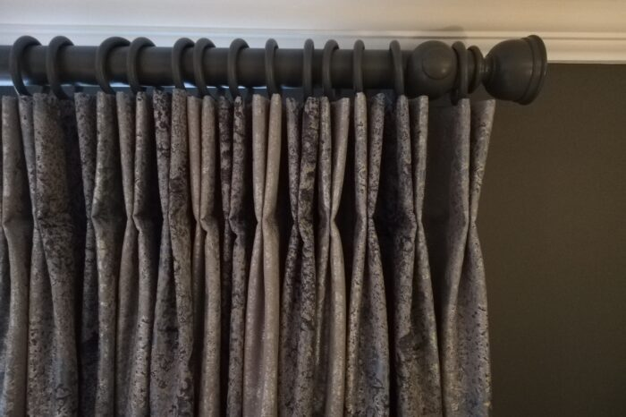 Bespoke Painted Curtain Pole